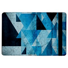 Plane And Solid Geometry Charming Plaid Triangle Blue Black Ipad Air 2 Flip by Mariart