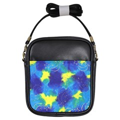 Mulberry Paper Gift Moon Star Girls Sling Bags by Mariart
