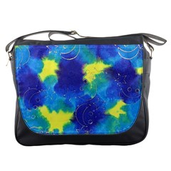 Mulberry Paper Gift Moon Star Messenger Bags by Mariart