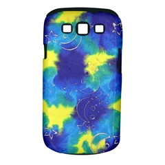 Mulberry Paper Gift Moon Star Samsung Galaxy S Iii Classic Hardshell Case (pc+silicone) by Mariart