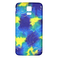 Mulberry Paper Gift Moon Star Samsung Galaxy S5 Back Case (white) by Mariart