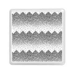 Original Plaid Chevron Wave Memory Card Reader (square)  by Mariart