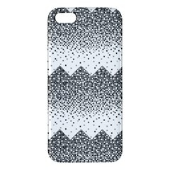 Original Plaid Chevron Wave Iphone 5s/ Se Premium Hardshell Case by Mariart