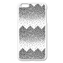 Original Plaid Chevron Wave Apple Iphone 6 Plus/6s Plus Enamel White Case by Mariart