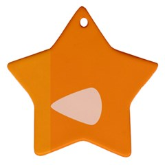 Screen Shot Circle Animations Orange White Line Color Ornament (star)