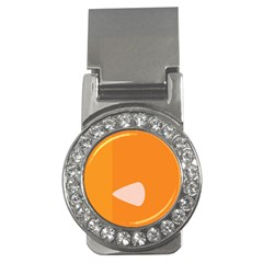 Screen Shot Circle Animations Orange White Line Color Money Clips (cz)  by Mariart