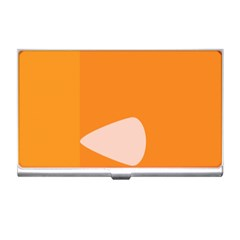 Screen Shot Circle Animations Orange White Line Color Business Card Holders by Mariart