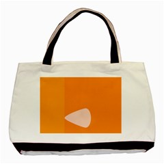 Screen Shot Circle Animations Orange White Line Color Basic Tote Bag (two Sides) by Mariart