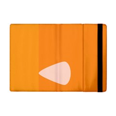 Screen Shot Circle Animations Orange White Line Color Apple Ipad Mini Flip Case by Mariart