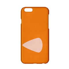 Screen Shot Circle Animations Orange White Line Color Apple Iphone 6/6s Hardshell Case by Mariart