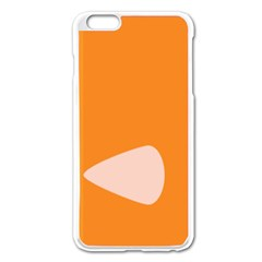 Screen Shot Circle Animations Orange White Line Color Apple Iphone 6 Plus/6s Plus Enamel White Case by Mariart