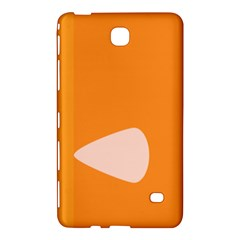 Screen Shot Circle Animations Orange White Line Color Samsung Galaxy Tab 4 (8 ) Hardshell Case  by Mariart