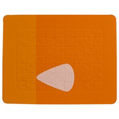 Screen Shot Circle Animations Orange White Line Color Jigsaw Puzzle Photo Stand (rectangular) by Mariart