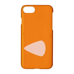 Screen Shot Circle Animations Orange White Line Color Apple Iphone 7 Hardshell Case by Mariart