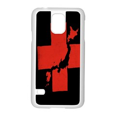 Sign Health Red Black Samsung Galaxy S5 Case (white) by Mariart