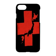 Sign Health Red Black Apple Iphone 7 Hardshell Case by Mariart