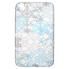 Sign Flower Floral Transparent Samsung Galaxy Tab 3 (8 ) T3100 Hardshell Case  by Mariart