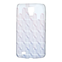 Seamless Horizontal Modern Stylish Repeating Geometric Shapes Rose Quartz Galaxy S4 Active by Mariart
