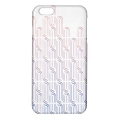 Seamless Horizontal Modern Stylish Repeating Geometric Shapes Rose Quartz Iphone 6 Plus/6s Plus Tpu Case by Mariart