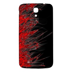 Fire Samsung Galaxy Mega I9200 Hardshell Back Case by Valentinaart