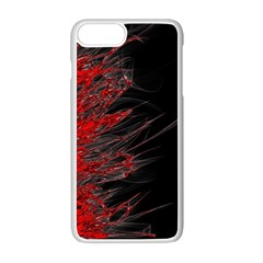 Fire Apple Iphone 7 Plus White Seamless Case