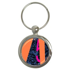 Recursive Reality Number Key Chains (round)  by Mariart