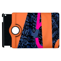 Recursive Reality Number Apple Ipad 3/4 Flip 360 Case by Mariart
