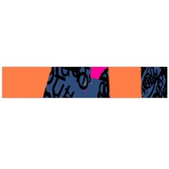 Recursive Reality Number Flano Scarf (large) by Mariart
