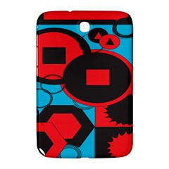 Stancilm Circle Round Plaid Triangle Red Blue Black Samsung Galaxy Note 8 0 N5100 Hardshell Case  by Mariart