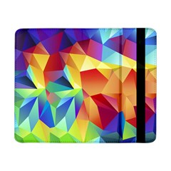 Triangles Space Rainbow Color Samsung Galaxy Tab Pro 8 4  Flip Case by Mariart