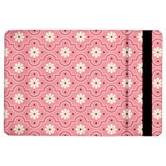Sunflower Star White Pink Chevron Wave Polka Ipad Air 2 Flip by Mariart