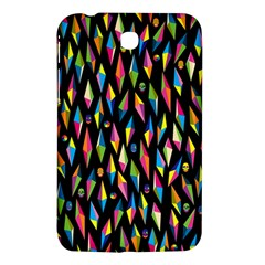 Skulls Bone Face Mask Triangle Rainbow Color Samsung Galaxy Tab 3 (7 ) P3200 Hardshell Case  by Mariart