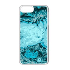 Abstraction Apple Iphone 7 Plus White Seamless Case by Valentinaart