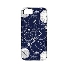 World Clocks Apple Iphone 5 Classic Hardshell Case (pc+silicone) by Mariart