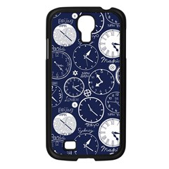 World Clocks Samsung Galaxy S4 I9500/ I9505 Case (black) by Mariart