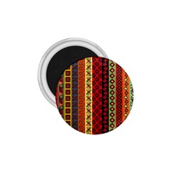 Tribal Grace Colorful 1 75  Magnets by Mariart