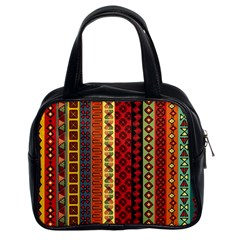 Tribal Grace Colorful Classic Handbags (2 Sides) by Mariart