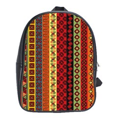 Tribal Grace Colorful School Bags(large)