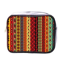 Tribal Grace Colorful Mini Toiletries Bags by Mariart