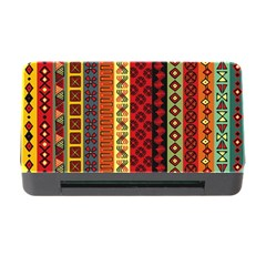Tribal Grace Colorful Memory Card Reader With Cf by Mariart