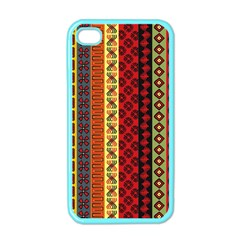 Tribal Grace Colorful Apple Iphone 4 Case (color) by Mariart
