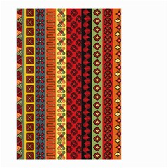 Tribal Grace Colorful Small Garden Flag (two Sides) by Mariart