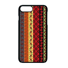 Tribal Grace Colorful Apple Iphone 7 Plus Seamless Case (black) by Mariart