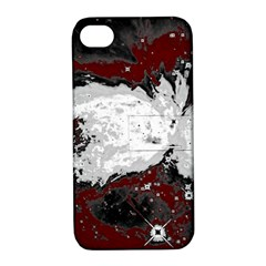 Abstraction Apple Iphone 4/4s Hardshell Case With Stand by Valentinaart