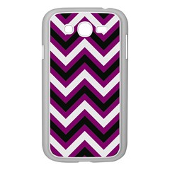 Zigzag Pattern Samsung Galaxy Grand Duos I9082 Case (white)
