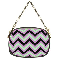 Zigzag Pattern Chain Purses (two Sides)  by Valentinaart