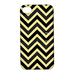 Zigzag Pattern Apple Iphone 4/4s Hardshell Case With Stand by Valentinaart