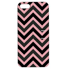 Zigzag Pattern Apple Iphone 5 Hardshell Case With Stand by Valentinaart
