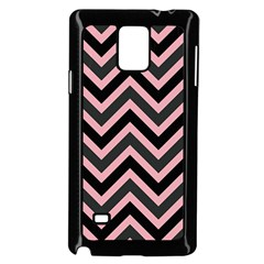 Zigzag Pattern Samsung Galaxy Note 4 Case (black) by Valentinaart