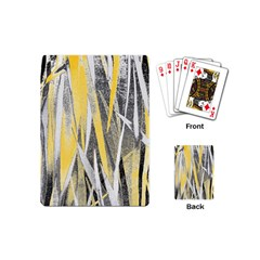 Abstraction Playing Cards (mini)  by Valentinaart